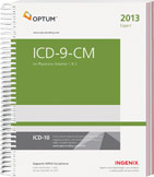 ICD-9-CM Expert for Physicians Volumes 1, 2 2013 Spiral